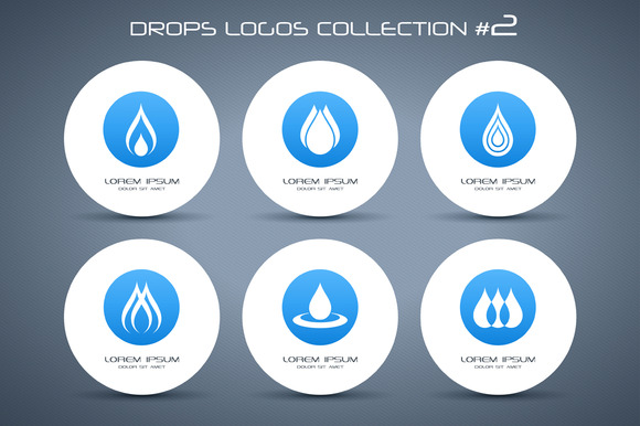 Drops Logos Collection #2