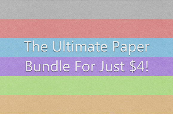 The Ultimate Minimal Paper Bundle