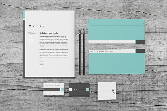 Motiv Stationery Set