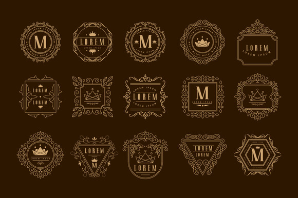 Elegant Monogram Design