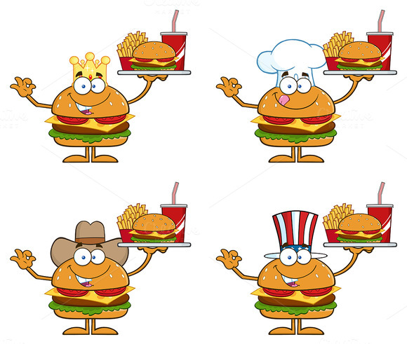 Hamburger Character Collection 2