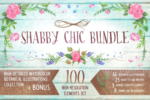 Shabby Chic Bundle Bonus