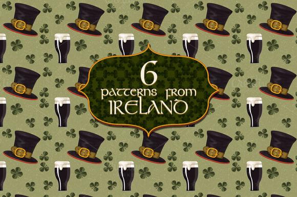 Irish Themed Patterns