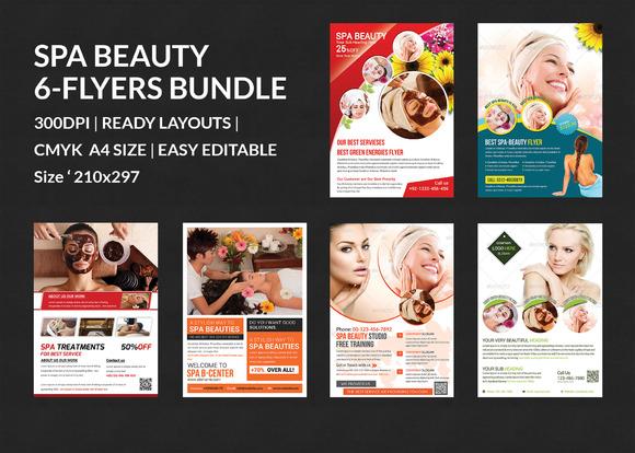 Spa Beauty Flyers Bundle