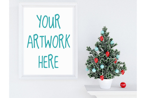 Christmas Decoration Mockup
