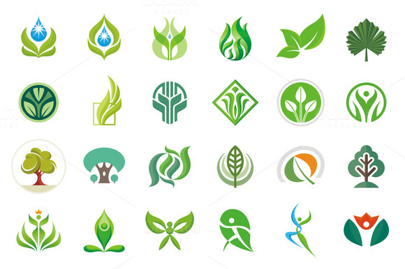 24 Vector Nature Signs