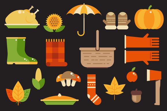 Autumn Illustrations Pack