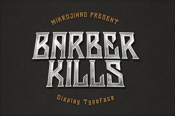 Barberkills Font