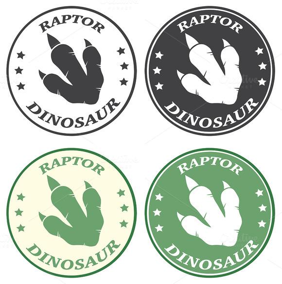 Dinosaur Footprint Collection 3