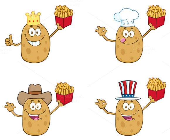 Potato Character Collection 2