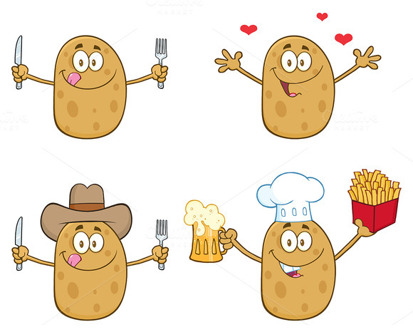 Potato Character Collection 4