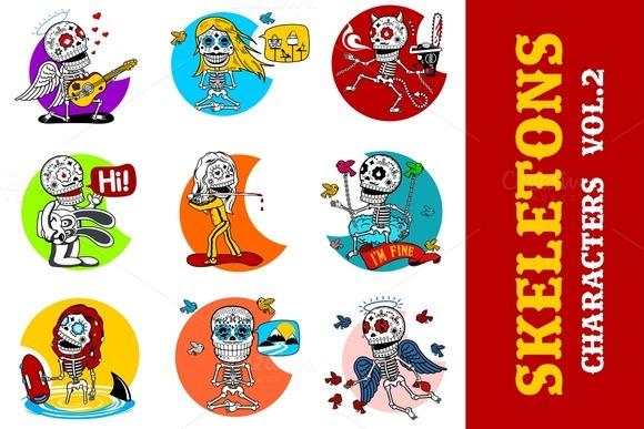 Skeletons Characters Vol.2