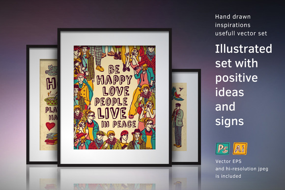 Positive Ideas Poster Collection