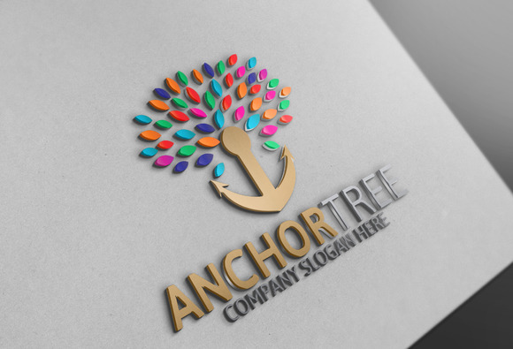 Anchor Tree Logo