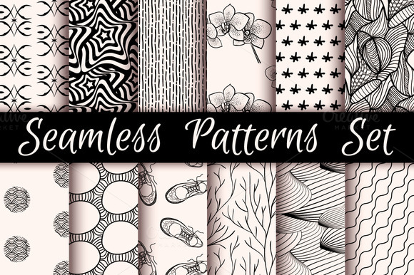 12 Incredible Seamless Patterns V.02