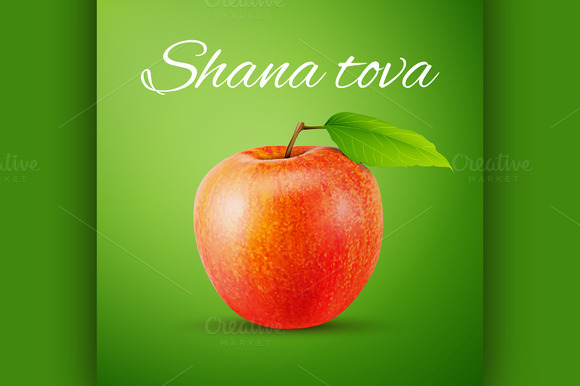 Apple With Shana Tova