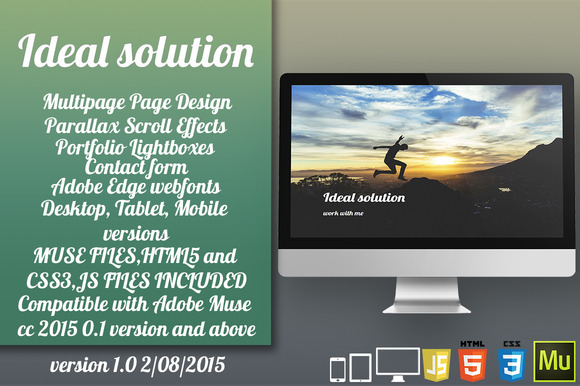 Ideal Solution HTML Muse Template