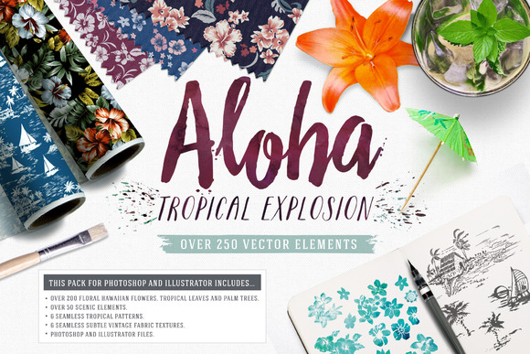 Aloha Tropical Explosion Collection