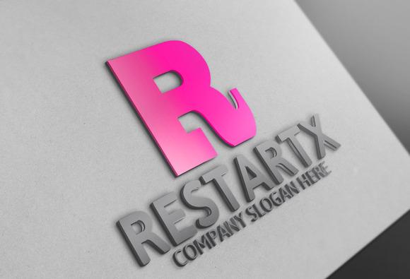 Restartx Letter R Logo