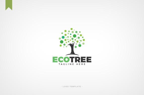 Eco Tree Premium Logo