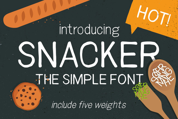 Snacker Sans Serif Font