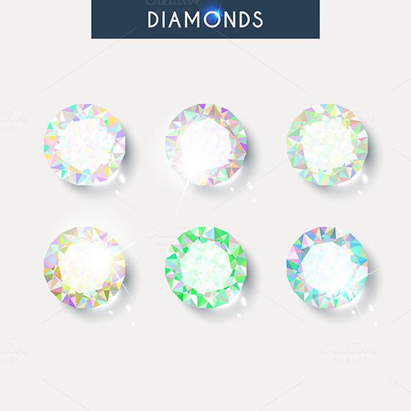 Set Realistic Diamond With Reflex G
