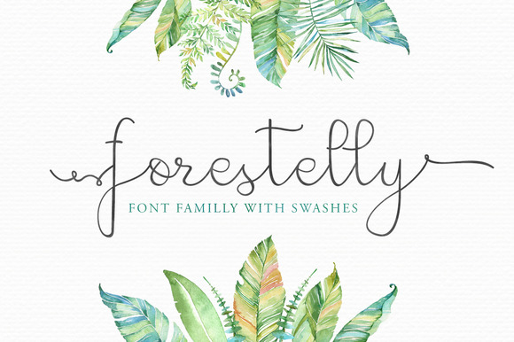 Forestelly Familly Swashes 30% OFF