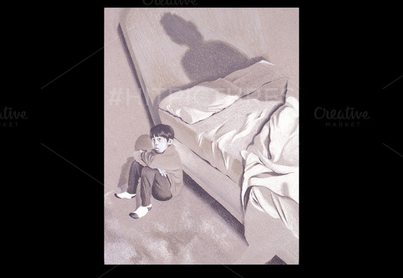 Greatest Fear Handmade Illustration