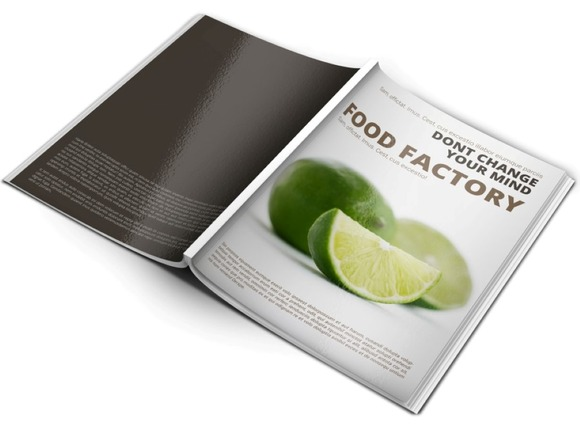 Healthy Magazine Template