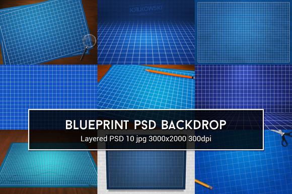 Blueprint PSD Backdrop