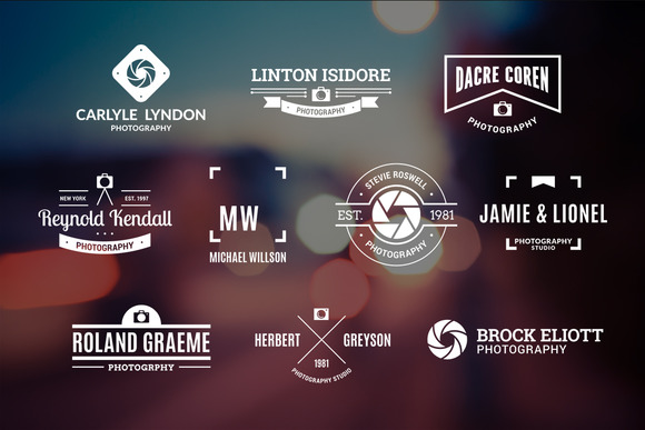 10 Photography Logos Vol 18