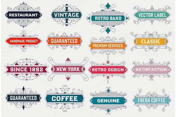 Vintage Design Templates