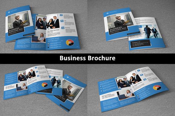 Corporate Brochure Bi-fold