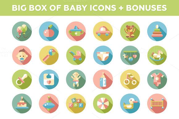 Big Box Of Baby Icons Bonuses