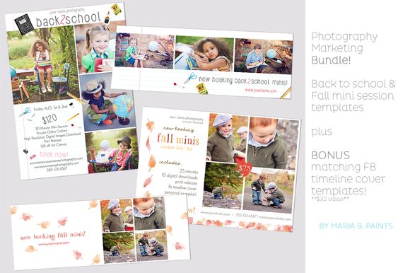 Back To School Fall Templates