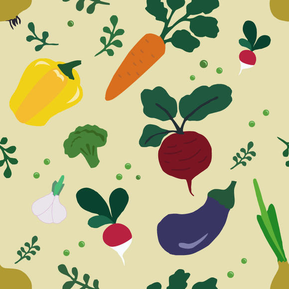 Pattern Vegetables