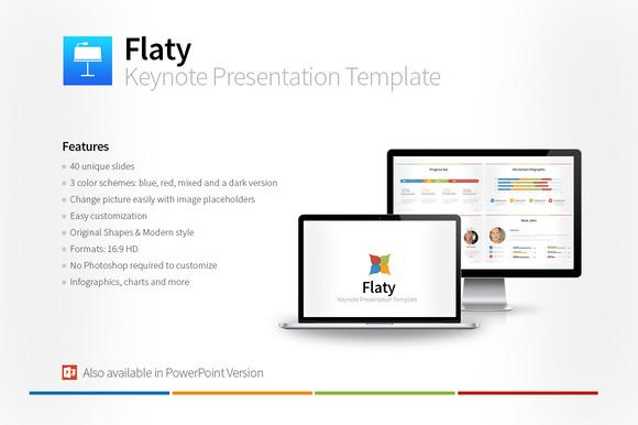 Flaty Keynote Presentation Template