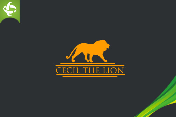 Lion Cecil The Lion Logo