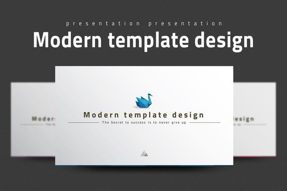 Modern Template Design
