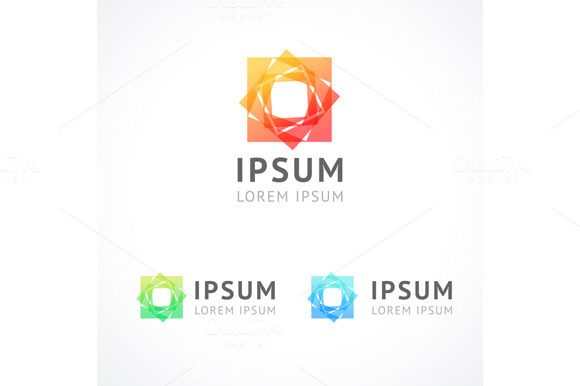 Logo Modern Business Abstract Vector