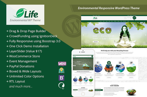 Life ECO WordPress Responsive Theme