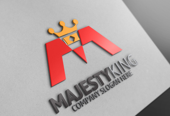 Majesty King Logo