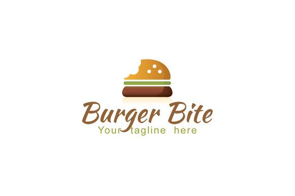 Burger Bite-Fast Food Logo Design