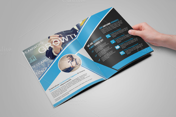 Template bi fold brochure template designtube for Bi fold brochure template illustrator