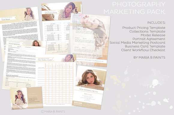 Photography Market Set Templates