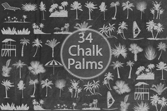 Chalk Palms