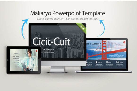 Makaryo Powerpoint Template