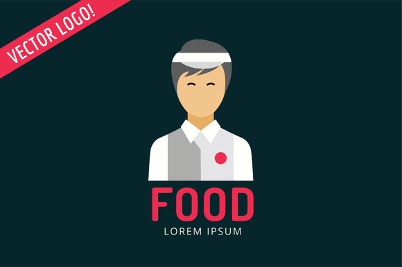 Chinese Fast Food Logo Icon Template