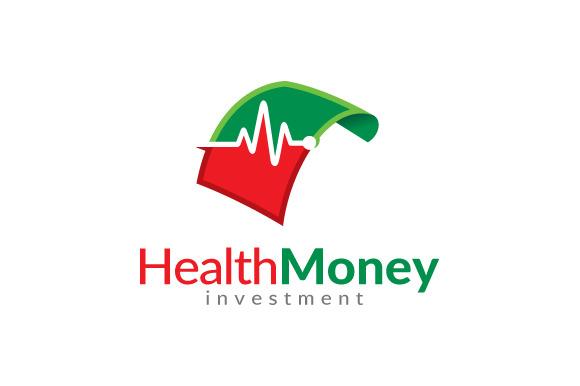 Health Money Logo Investment Logo