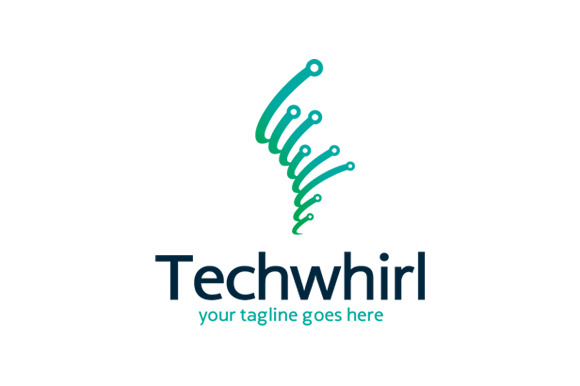 Tech Whirl Logo Template